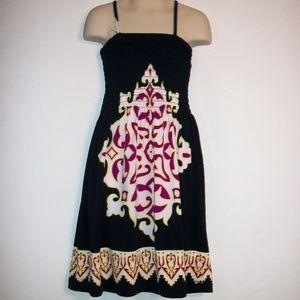 Girls Size 5/6 Euro Inspired Scrunchy Top Dress